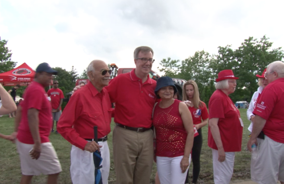 Ottawa Mayor Jim Watson At Charity Event